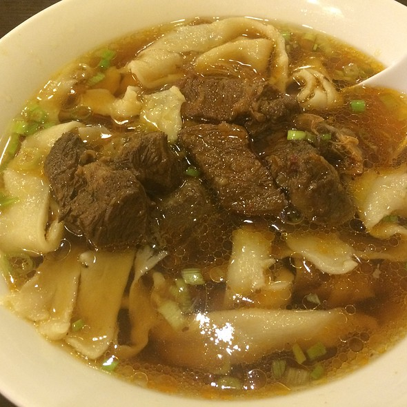 Hand Pulled Noodles Soup With Beef Tendon @ Imperial Tea Court at the Ferry Building