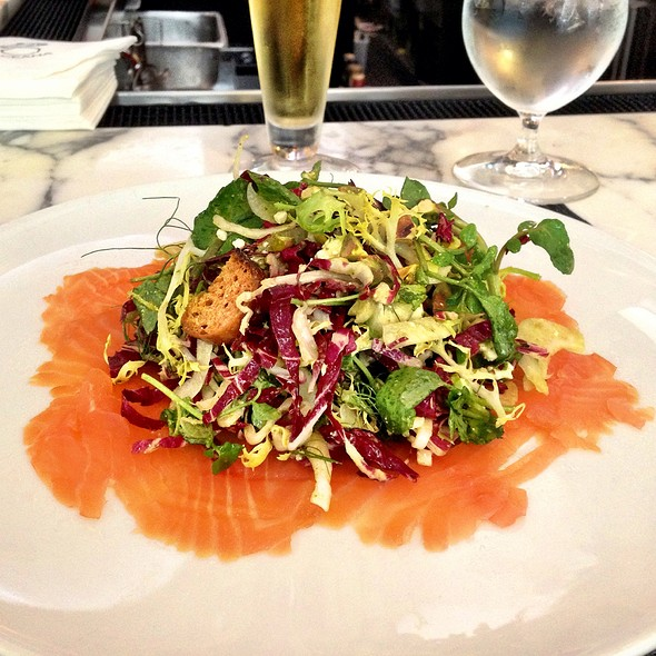 Smoked Salmon Salad @ Oceana Restaurant