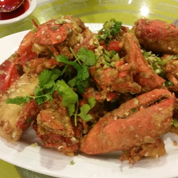 Garlic Crab @ Lin Chinese Cuisine and Tea House
