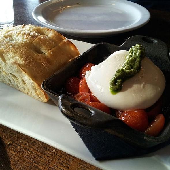 Burrata @ Paxti's Chicago Pizza