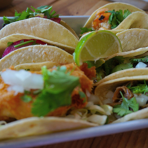 Assorted Tacos @ bartaco