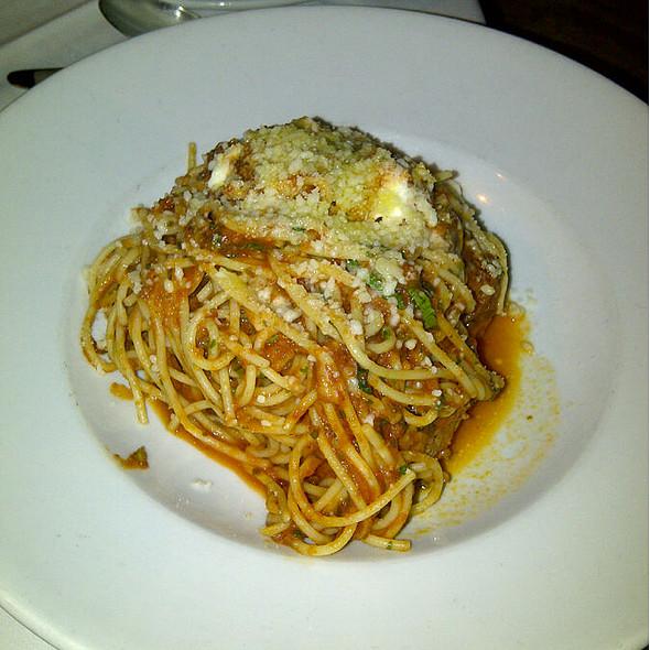 Spaghetti and Meatballs - Valenza Restaurant, Atlanta, GA