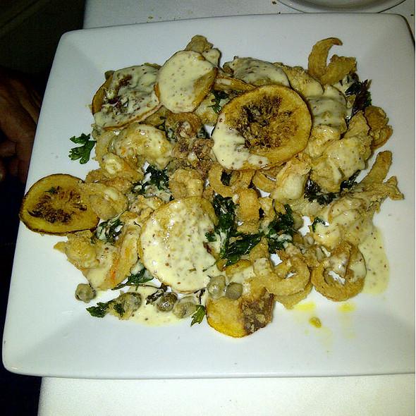 Shrimp and Calamari - Valenza Restaurant, Atlanta, GA