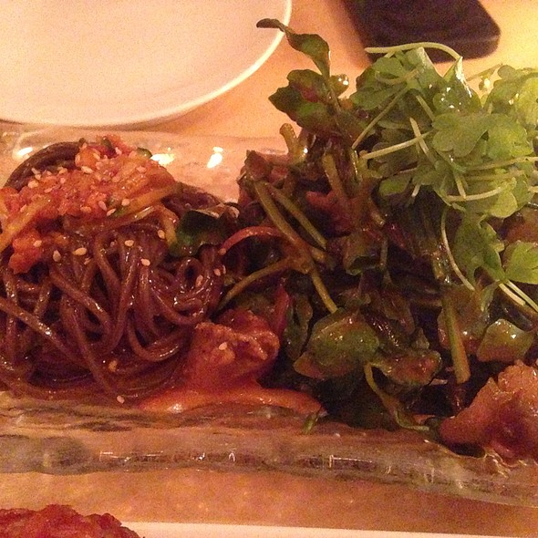 Spicy Whelk Salad With Buckwheat Noodles @ Danji