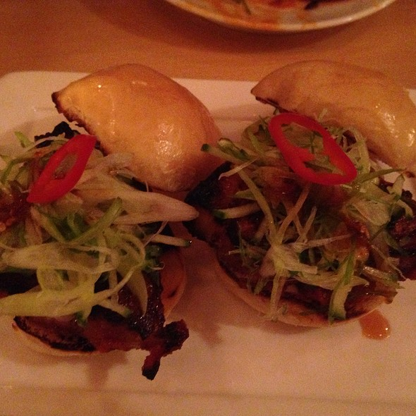 Pork Belly Sliders @ Danji