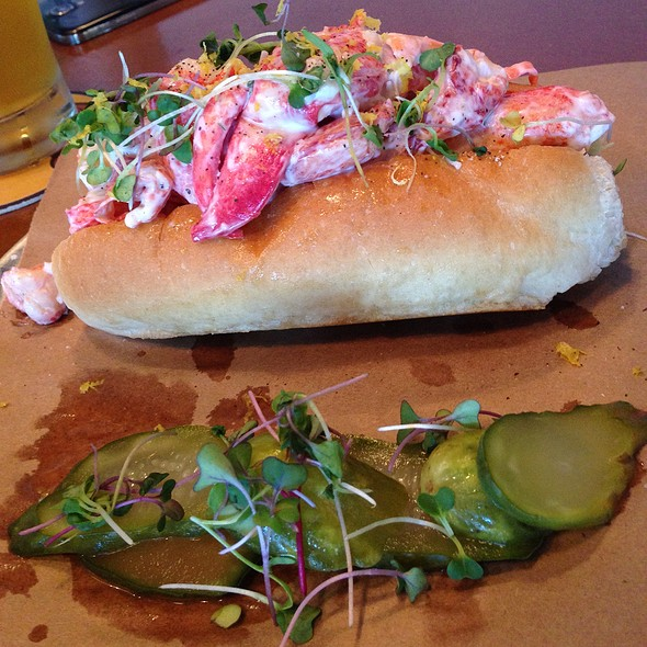 lobster roll @ Standard Gastropub