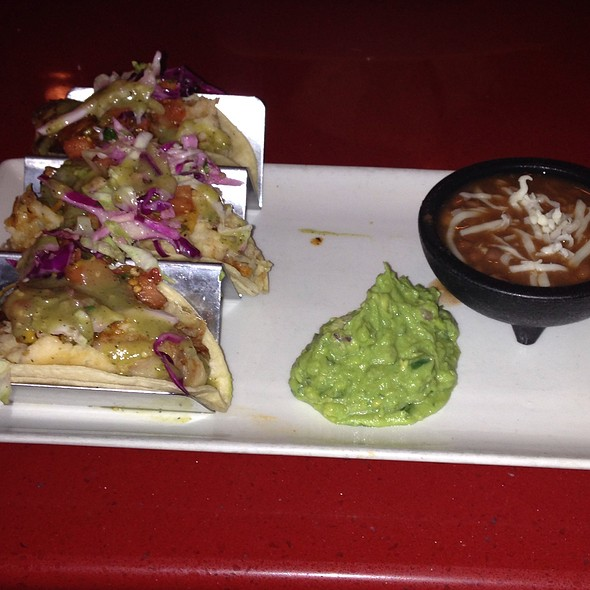 Potato Tacos - Gonzalez Y Gonzalez - NYNY Hotel, Las Vegas, NV
