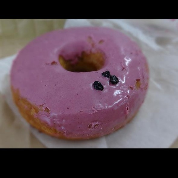 Blueberry & Cream Cheese Donuts