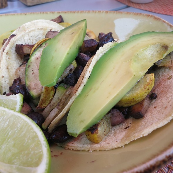 Grilled Vegetable Tacos @ San Diego Marriott Marquis & Marina