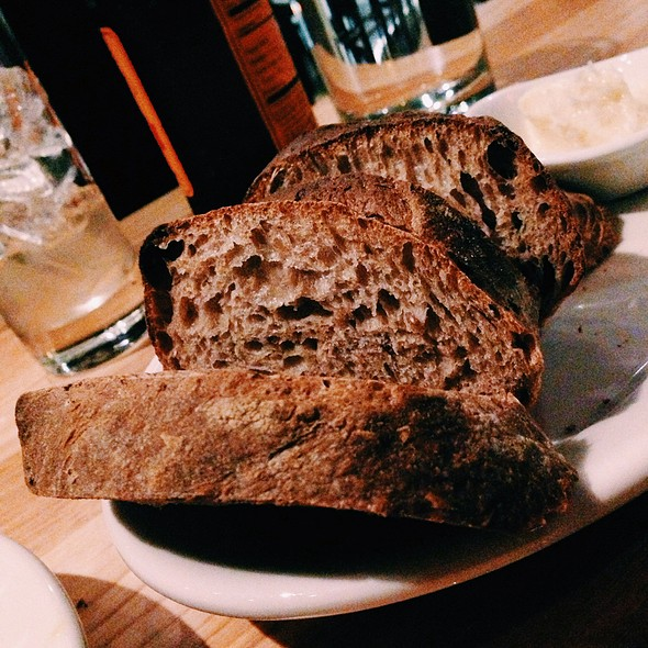 Beer Bread With Honey Butter @ Red Dog Restaurant & Bar