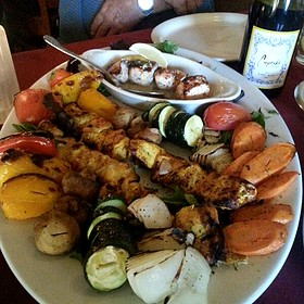 Chef's Platter Combo - Skewers Kabob House