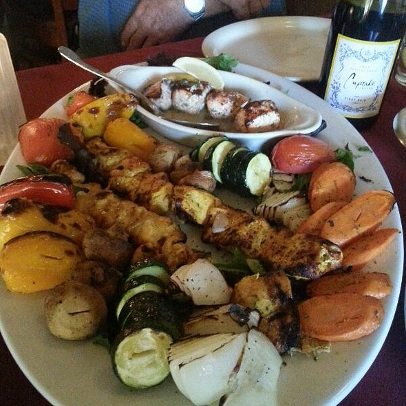 Chef's Platter Combo - Skewers Kabob House, Modesto, CA