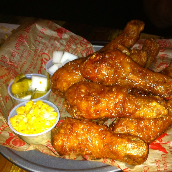 Soy Garlic Drumsticks @ Mad for Chicken