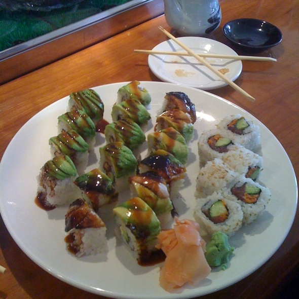 Caterpillar And Spicy Tuna