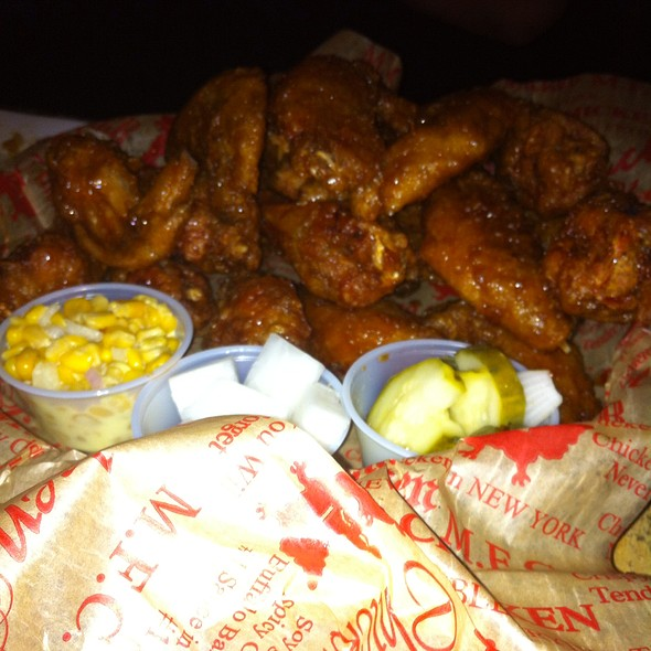 Soy Garlic Chicken Wings @ Mad for Chicken