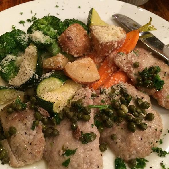 veal piccata - Buon Appetito, San Diego, CA