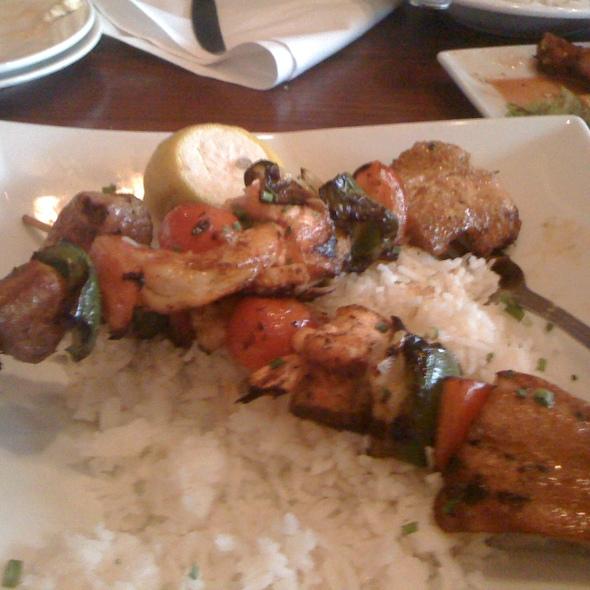 Cajun Seafood Kabobs @ Boulevard Woodgrill