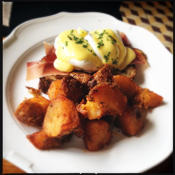 Eggs Benedict - The Standard Grill, New York, NY