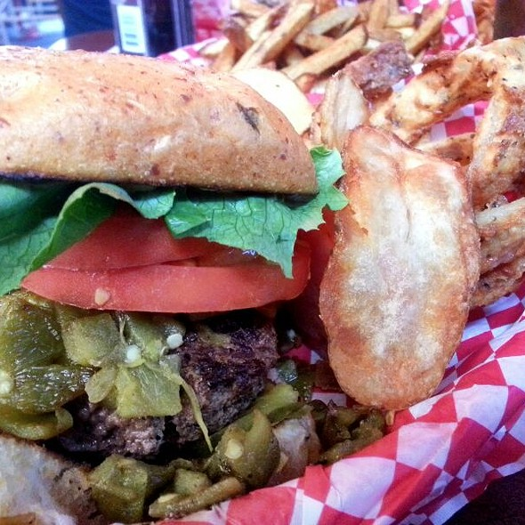 Texas Monthly Burger @ Alamo Springs Cafe