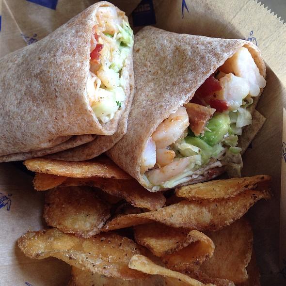 Shrimp Baja Burrito