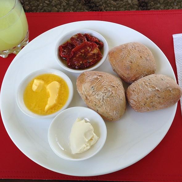 Fresh Ciabatta Bread @ Dantica Lodge
