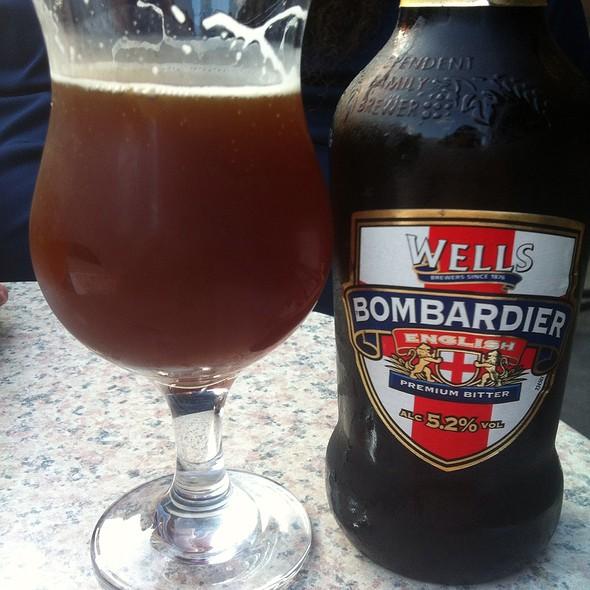 Wells Bombardier English Bitter @ Le Saint Bock