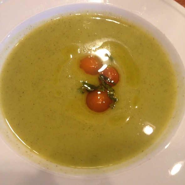 Chilled Zucchini Soup at Pastaria