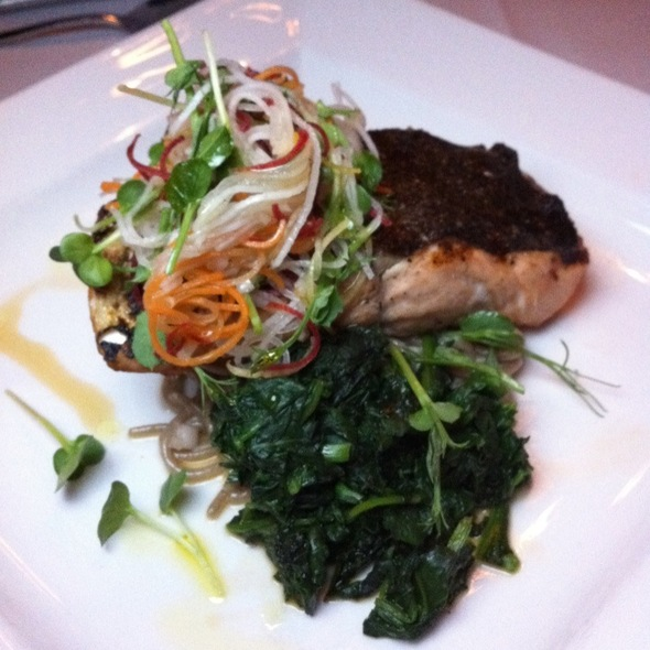 Blacken Salmon @ Dahlia Lounge