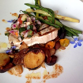 Fresh Grilled Swordfish Special