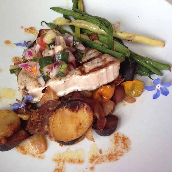 Fresh Grilled Swordfish Special - The Oxford House Inn, Fryeburg, ME