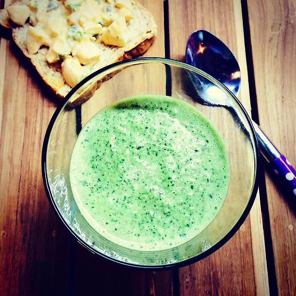 Green Gazpacho @ The Mistress Of Spices (Chez Moi)