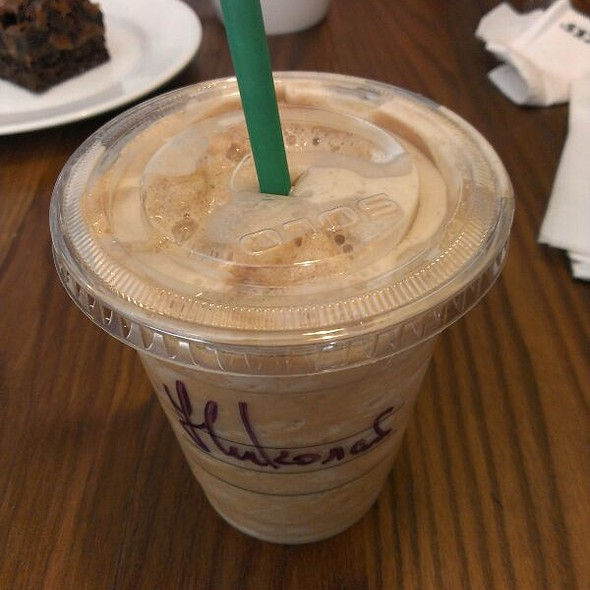 Espresso Frappuccino @ Starbucks