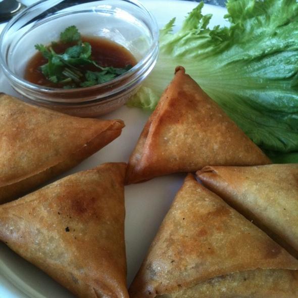 Vegatable Samosa @ Little Yangon