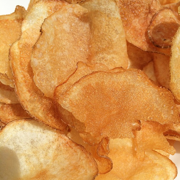 Salt And Vinegar Potato Chips @ Trou Normand