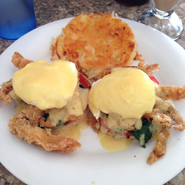 Softshell Crab Benedict @ Citrus Breakfast & Lunch