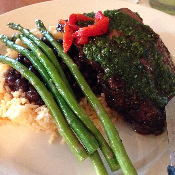 Churrasco Con Chimichurri @ Mojito Cafe Inc