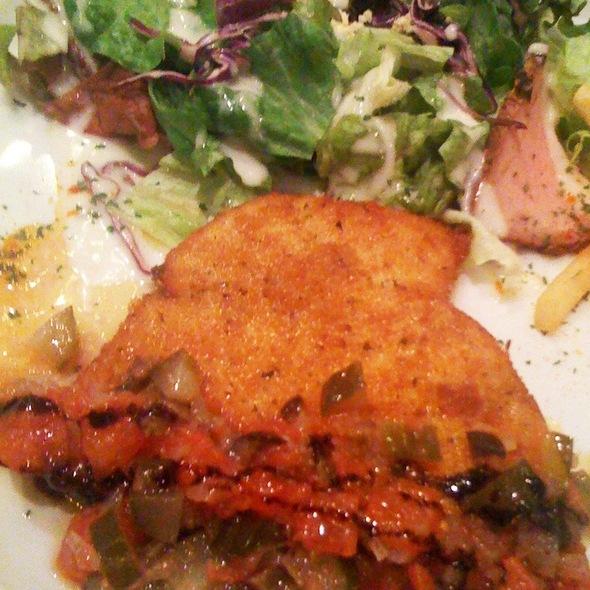 Grilled Herb-Crusted Swordfish at VENGA VENGA ...