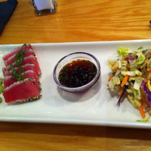 Seared Ahi Tuna Small Bite @ BJ'S Brewhouse & Restaurant