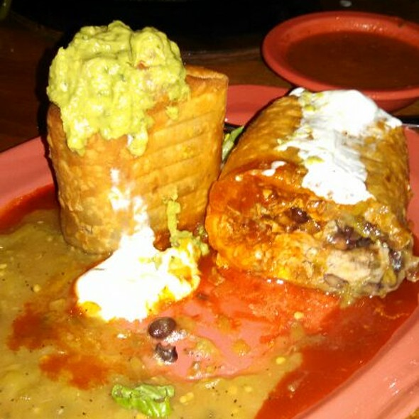 Carnitas Chimichanga - Spotted Donkey Cantina at El Pedregal, Boulders Resort, Scottsdale, AZ