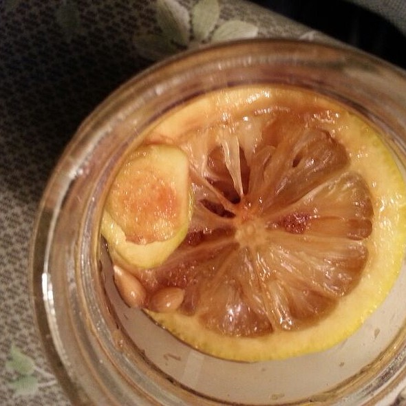 Homemade gourmet lemon ginger tea