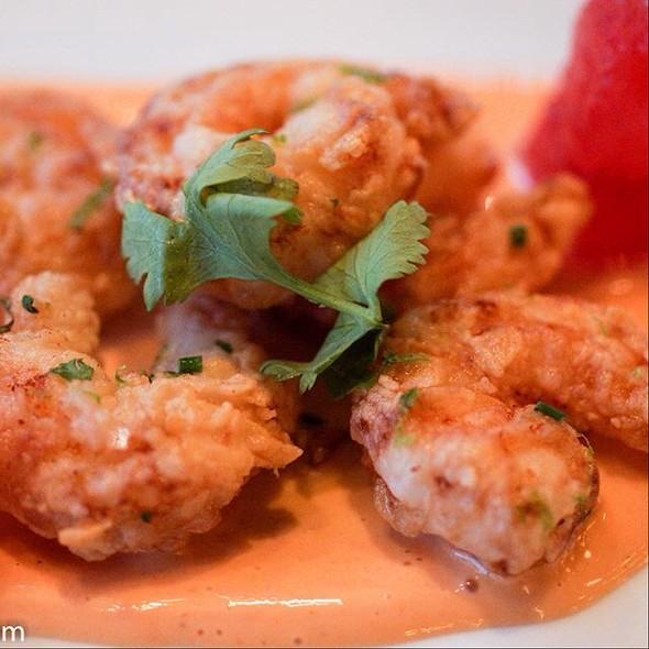 Popcorn shrimp @ Bradley's Fine Diner