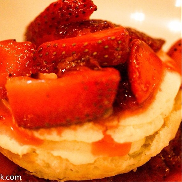 strawberry shortcake @ Bradley's Fine Diner