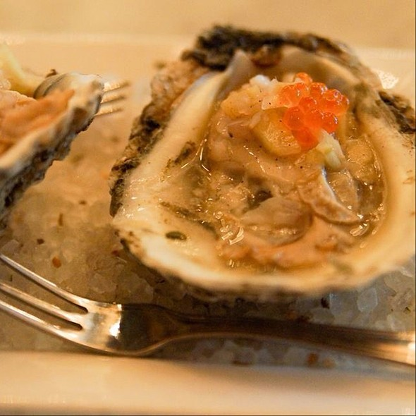 Grilled Oysters @ Liberty Kitchen And Oysterette