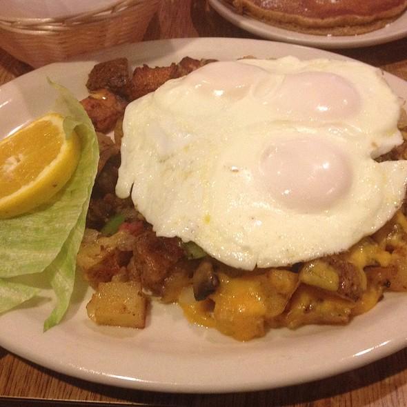 Poor Richard's Eggs @ Poor Richard's Cafe