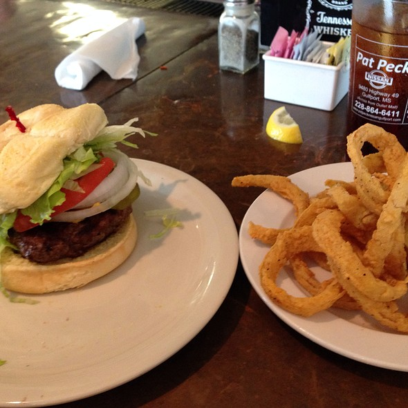 Blow Fly Burger @ Blow-Fly Inn