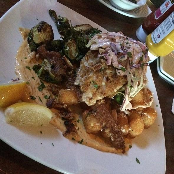 Pecan Crusted Catfish - Park Tavern - Rosemont, Rosemont, IL