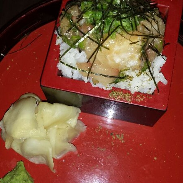 Yellowtail With Rice