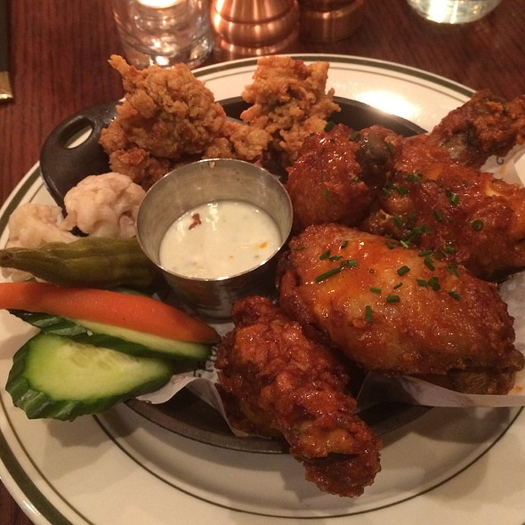 Oysters & Wings @ Red Rooster Harlem