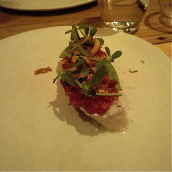 Pollock, Tomato, Purslane @ Contra