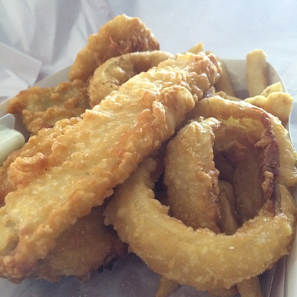 Fish and Chips @ Condell Park Fish n Chips